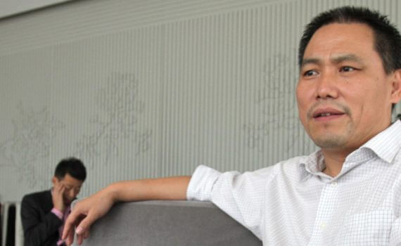 Civil rights lawyer Mr Pu Zhiqiang, who represents many dissidents, including artist Mr Ai Weiwei, is trying to put pressure on the authorities to dismantle the corrupt system altogether.