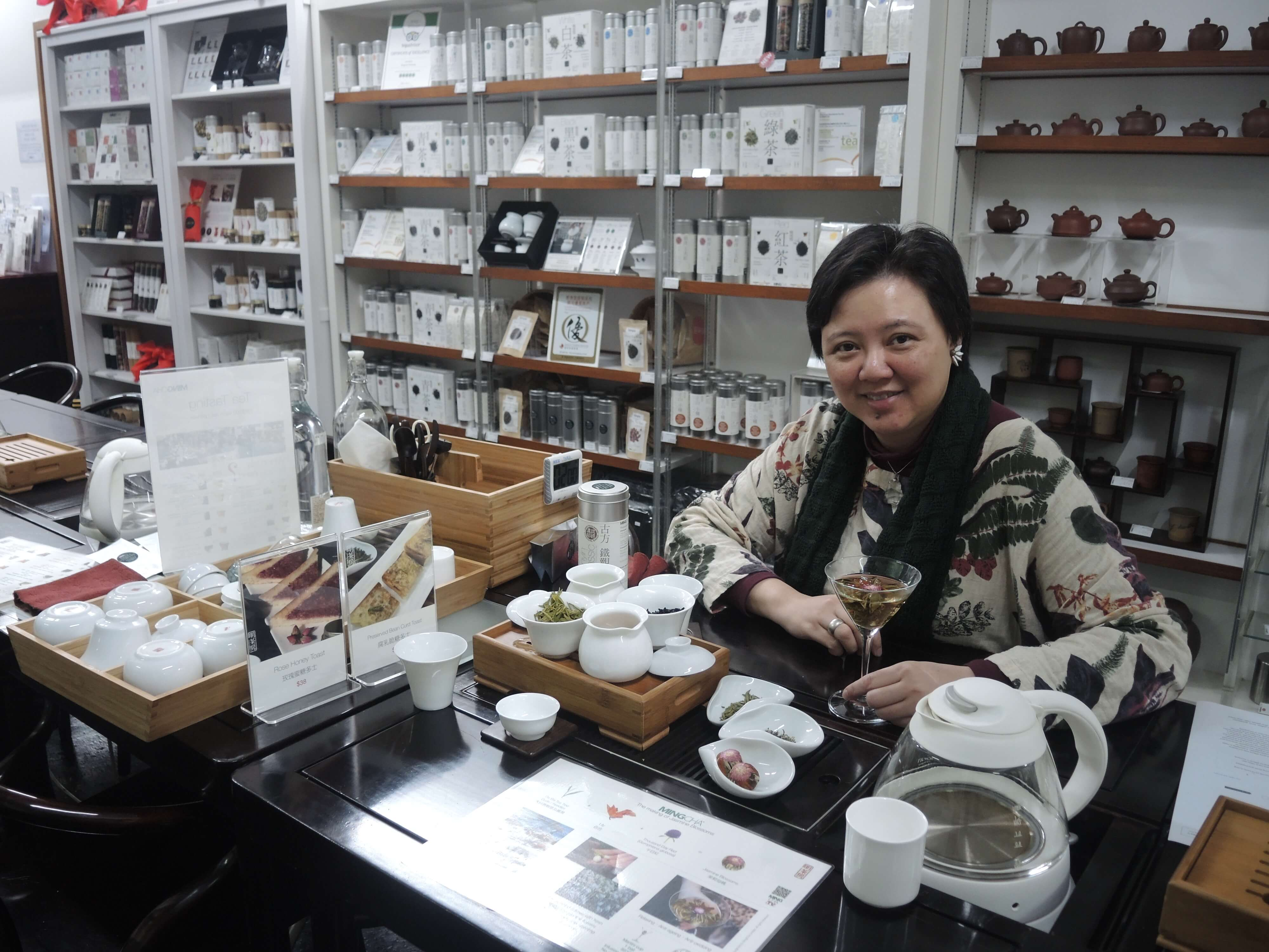 Founder of Ming Cha Limited, Vivian Mak, said every step of the production process is crucial and can affect the quality of the tea.