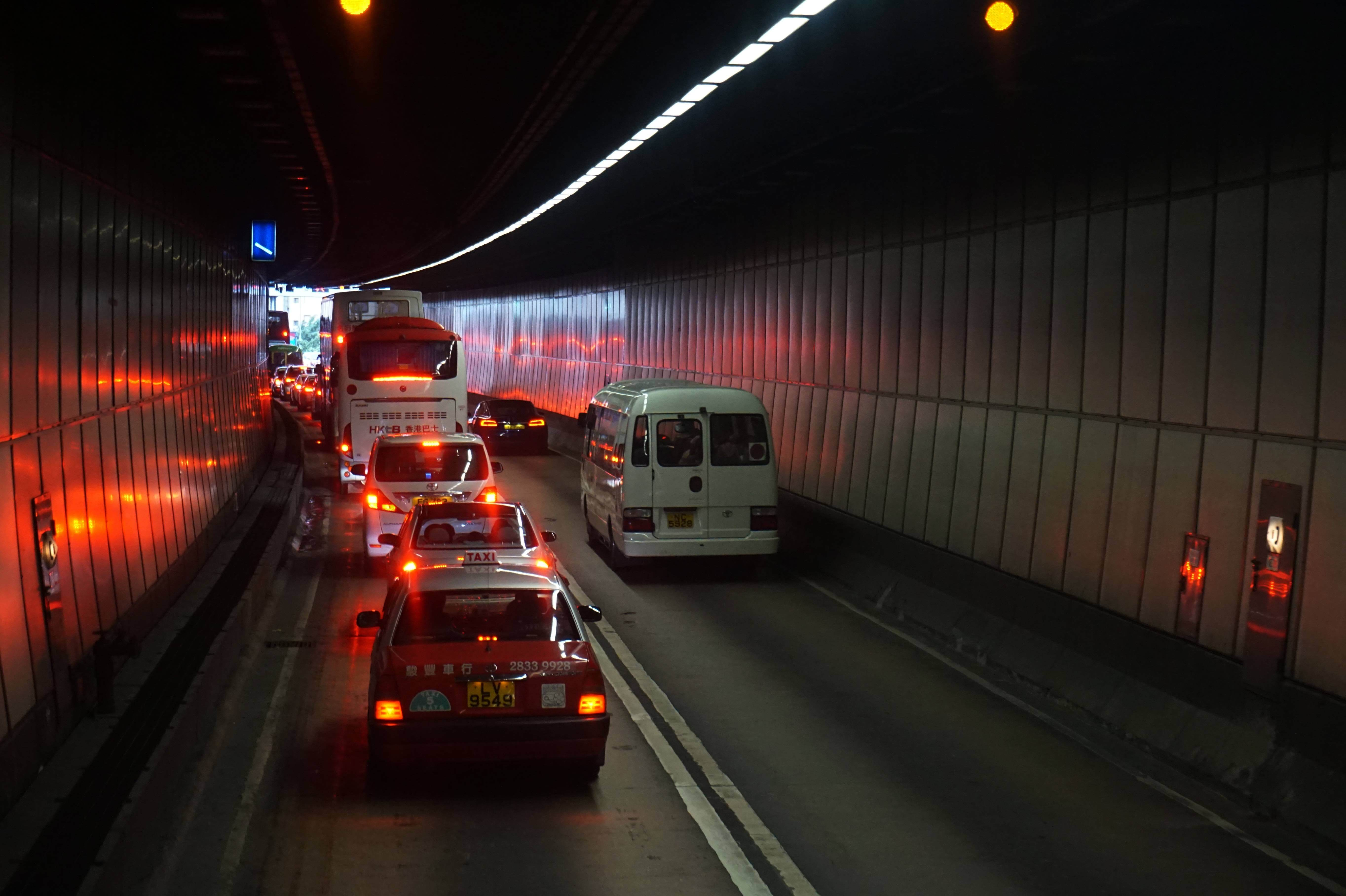 There are traffic jams almost every morning in the Aberdeen tunnel as more than 70 per cent of residences rely on the tunnel to get to other parts of Hong Kong
