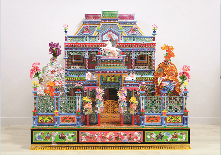 One of the paper offerings in the exhibition