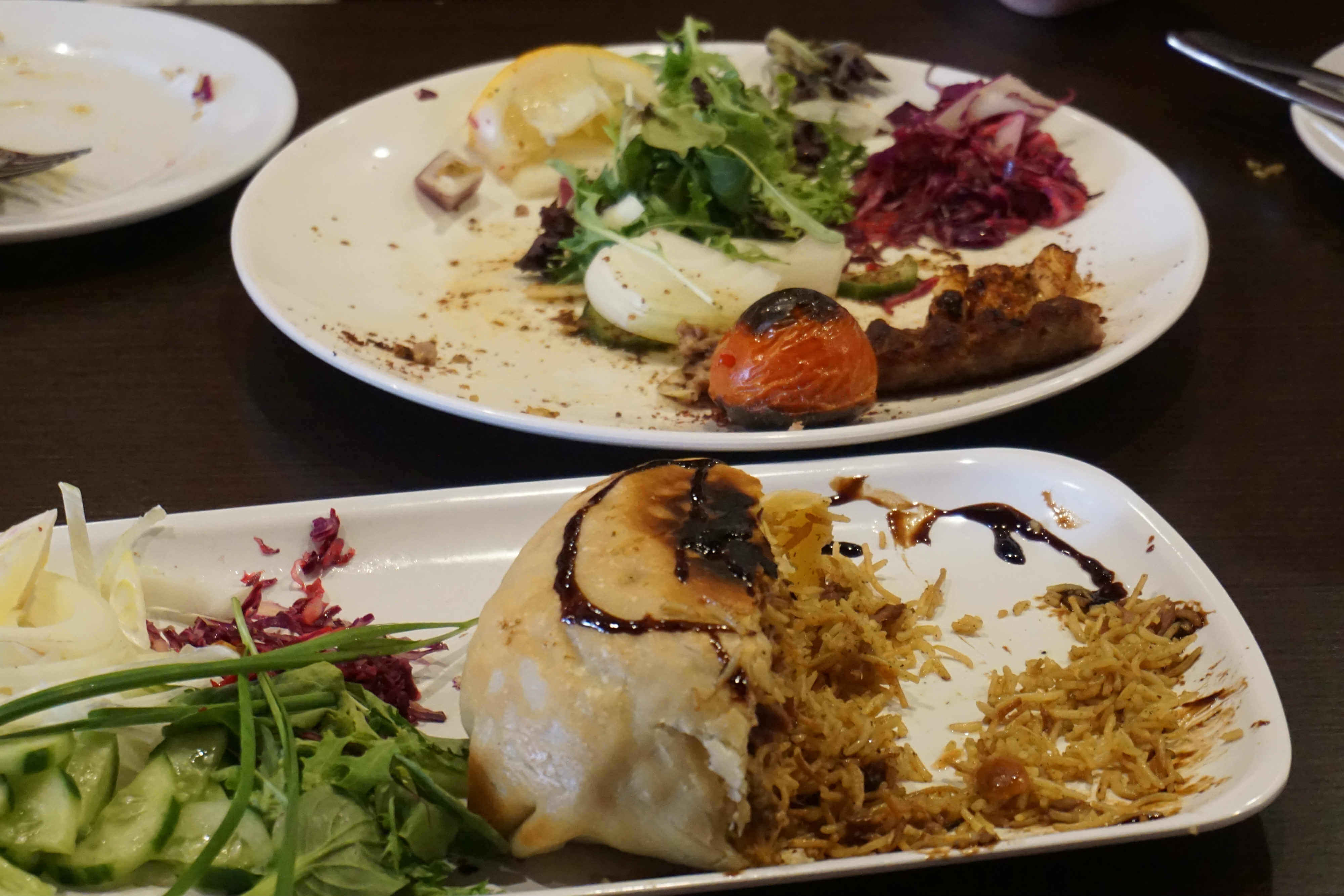 Persian cuisine lunch included in the Babylonian Delights - Fairfield food tour.