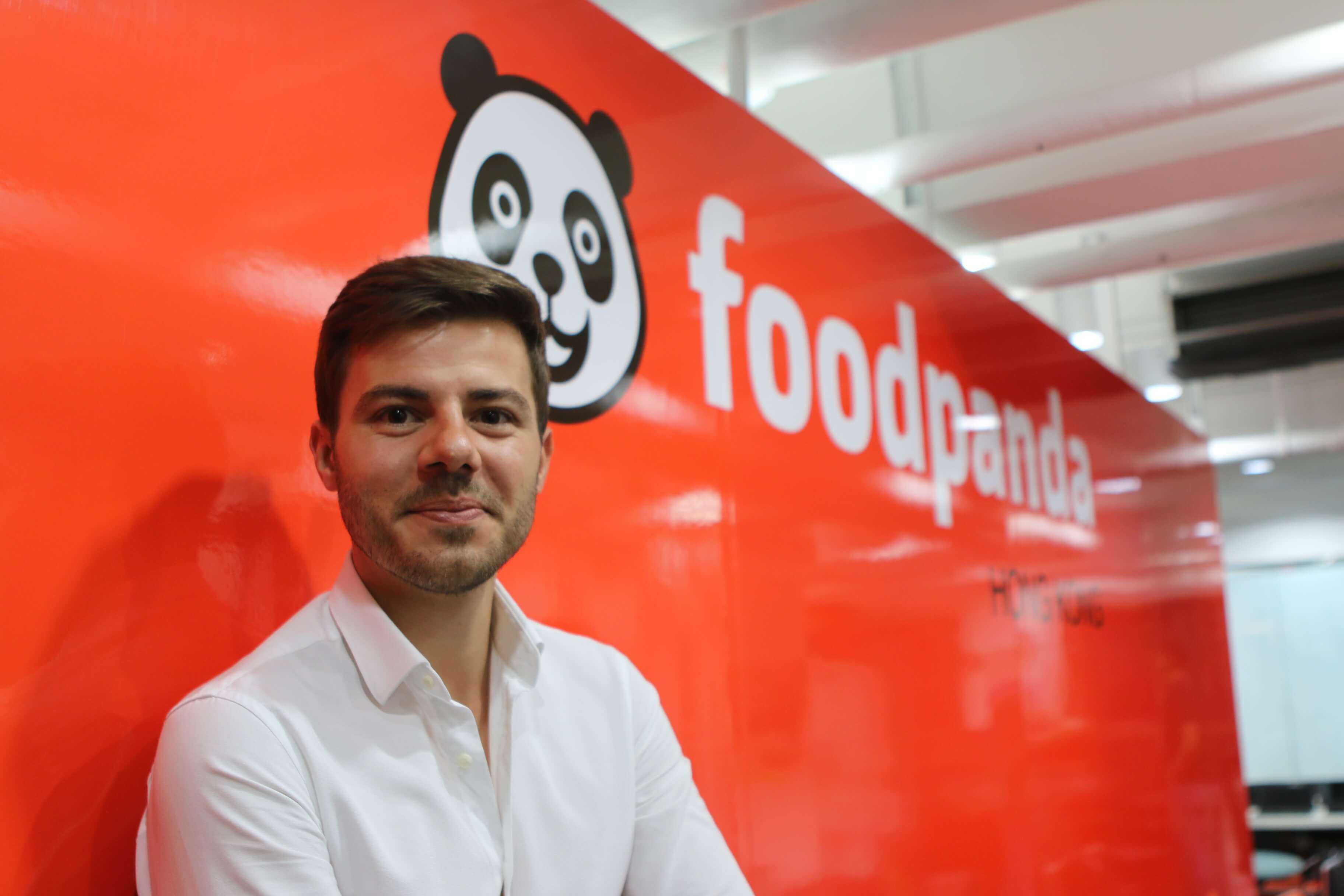 """""""I don't personally see it as a competition. Foodpanda, specifically in Hong Kong, is a educational process,"""" said Alexander Roth, CEO of Foodpanda Hong Kong"""